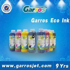Garros Brand eco solvent ink msds , eco solvent ink suppliers , bulk ink Printing Ink, Prints