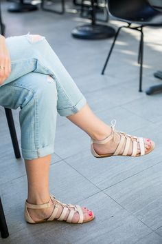 All about the boyfriend jean + sandal by A Piece of Toast | Source: http://apieceoftoastblog.com/2014/05/14/crop/