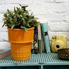 Ice Cream Cone Planter - The Green Head