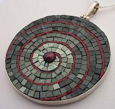 Margo Anton's Mosaic Jewels | LARGE MOSAIC PENDANTS