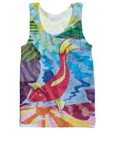 Check out the latest from weeabootique.co.uk !    Electric Koi Tank... : http://www.weeabootique.co.uk/products/electric-koi-tank-top?utm_campaign=social_autopilot&utm_source=pin&utm_medium=pin