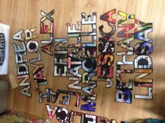 Cool and simple idea - [door decs. use Ellison cutter for letters with black construction paper and scrapbook paper] Ra Door Tags, Door Decks, Residence Life, Black Construction Paper, Resident Assistant, Res Life, Dorm Decorations, Classroom Decor, Doors