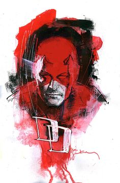 Daredevil by Bill Sienkiewicz *