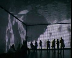 """This video shows a summary of various student's projects displayed at the TROIA pixel room in Bremen, Germany in 2006. The projects are the results of a class called """"Live SDI"""", which took place at the HfK Bremen (University of Fine Arts) in 2005/2006.  They are experiments with light, sound, emotion, ambience and space, meant to be more than mere video displays, creating an animated room. The walls contain real LED pixels, which makes a difference from normal video projectors. If all…"""