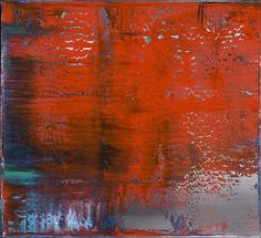 Abstract Painting 805-4 Artist: Gerhard Richter Style: Abstract Expressionism Genre: abstract
