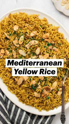 Seasoned Rice Recipes, Easy Rice Recipes, Tasty Vegetarian Recipes, Side Recipes, Healthy Dinner Recipes, Indian Food Recipes, Real Food Recipes, Cooking Recipes, Vegan Dinners