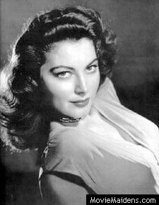 Ava Gardner - 1940s actress ... MovieMaidens.com