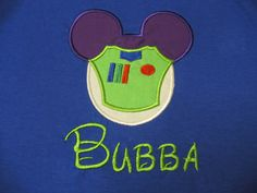 Check out this item in my Etsy shop https://www.etsy.com/listing/196222878/buzz-lightyear-mouse-ears