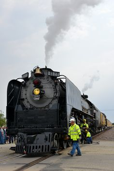 Union Pacific steam engine in WaKeeney.