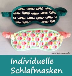 Sewing a sleeping mask - made easy and quick from scraps of fabric homemade, kos . Sewing a sleeping mask - made easy and quick from scraps of cloth, free instructions and patterns on www. Diy Sewing Projects, Sewing Projects For Beginners, Sewing Hacks, Sewing Crafts, Free Sewing, Hand Sewing, Diy Presents, Creation Couture, Homemade Crafts
