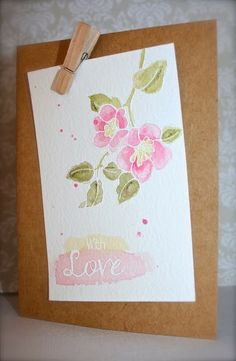 My Paper Epiphany - my 1st Clearly Besotted stamp set