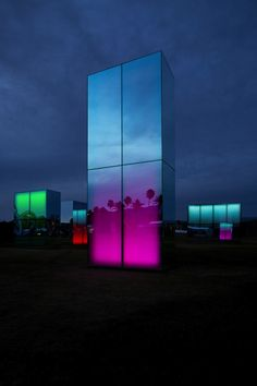 'Reflection Field' at Coachella by Phillip K. Smith