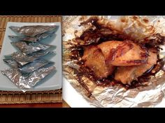 ▶ Chinese Foil Wrapped Chicken Recipe-How To Make Foil Wrapped Chicken Parcels-Asian Food - YouTube