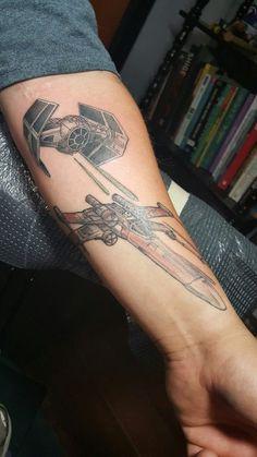 love star wars tattoos!!!