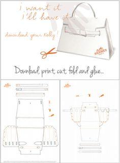 DIY Hermès Kelly Bag – Origami Paper Craft | Yes Missy!