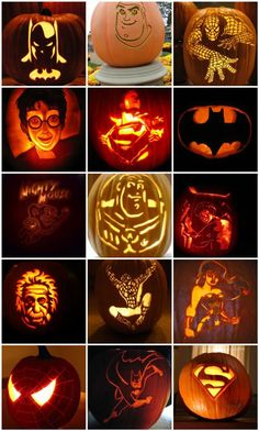 Harry Potter Pumpkin Carving