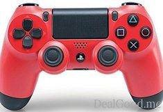 DualShock 4 Wireless Controller for PlayStation 4  Magma Red [Old Model]