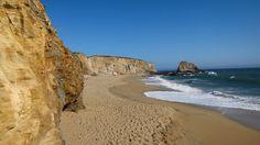 Panther Beach  Near Davenport, California