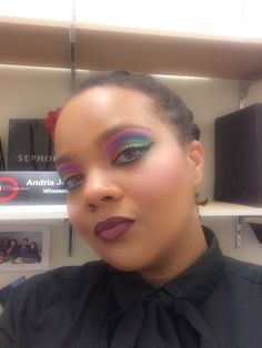 #TheBeautyBoard Makeup of the Day: Love is Love by AndiCake. Upload your look to gallery.sephora.com for the chance to be featured! #Sephora #MOTD