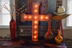 Lighted Metal MARQUEEE SIGN Marquee Letter by TopLineNashville, $195.00