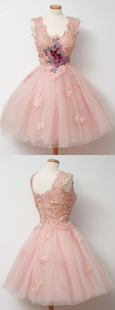 short homecoming dresses,pink homecoming dresses,lace homecoming dresses,unique homecoming dresses @simpledress2480