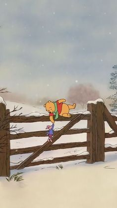 iPhone and Android Wallpapers: Winter Winnie the Pooh and Piglet Wallpaper for i. - iPhone and Android Wallpapers: Winter Winnie the Pooh and Piglet Wallpaper for iPhone and Android - Wallpapers Android, Android Wallpaper Winter, Xmas Wallpaper, Christmas Phone Wallpaper, Disney Phone Wallpaper, Cute Wallpaper Backgrounds, Cute Cartoon Wallpapers, Cellphone Wallpaper, Winter Wallpapers