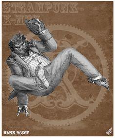 Beast Steampunk Redesign by *sketcheronline on deviantART