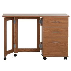 Buy Dino Space Saving Desk - Oak Effect at Argos.co.uk - Your Online Shop for Desks and workstations.