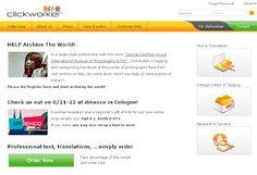 Remote  Work  Tips: Freelance Startup: Clickworker.com Review