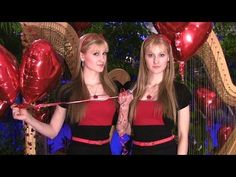 ALL YOU NEED IS LOVE (The Beatles) Harp Twins - Camille and Kennerly