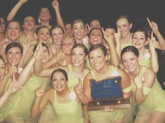 Clackamas Cavalettes win State 2007 at the OSAA Dance Team Championships in Oregon!