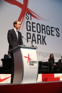 The Duke of Cambridge officially opens St George's Park