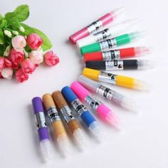 Yesurprise 12 Colors Diy 3D Nail Art Painting Polish Pen Set by yesurprise. $10.23. Ideal for fine nail art work.. Easy to handle and operate.. Create your own designs on finger or toenails. Suitable for Professional use or home use. 1 x 12 Colors 3D Nail Art Pens. Features: Fantastic 3D nail art pens, use to create a multitude of unique and individual designs that are yours alone, easily draw professional 3D details pattern Shaped to feel like a normal pen, this makes them...