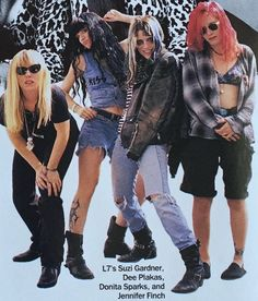L7 in Vogue magazine (yes, you read that right) in 1992.