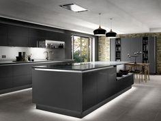42 Contemporary Kitchen Cabinets Latest Trends No Longer A Mystery 48 Kitchen Room Design, Luxury Kitchen Design, Kitchen Cabinet Design, Luxury Kitchens, Kitchen Interior, Kitchen Showroom, Kitchen Cabinetry, Kitchen Layout, Kitchen Ideas
