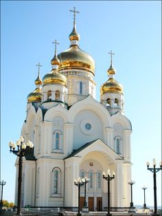 The Cathedral Church of the Transfiguration in Khabarovsk, Russia.  by Jason Rogers