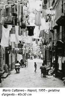 Mario Cattaneo - Naples, 1955 - gelatin