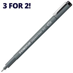 Staedtler 308 Pigment Liner Pen In stock now for fast UK and worldwide shipping. 3 For 2, Pens
