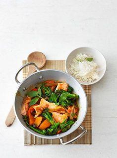 Lachs-Curry Rezept - [ESSEN UND TRINKEN]