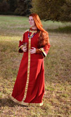 Frühen Mittelalter Kleid