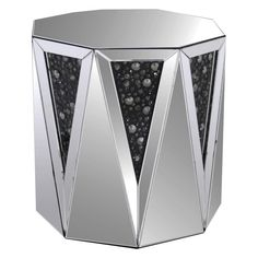 Acme Furniture Noor Mirrored End Table - 82777