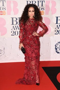 Pin for Later: Les Brit Awards Ont Été Plus Glamour Que Jamais Rebecca Ferguson