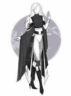 Daa29 - Hobbyist, Digital Artist | DeviantArt Drawing Anime Clothes, Dress Drawing, Manga Clothes, Clothing Sketches, Dress Sketches, Fashion Design Drawings, Fashion Sketches, Anime Outfits, Cool Outfits