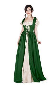Renaissance Medieval Irish Costume Over Dress & Boho Chem... https://smile.amazon.com/dp/B01ICYW2M4/ref=cm_sw_r_pi_dp_x_KMGXxbFQJA897