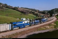 RailPictures.Net Photo: DEEX 010 Detroit Edison (DEEX) GE U30C at Dunn's Station, Pennsylvania by Doug Lilly