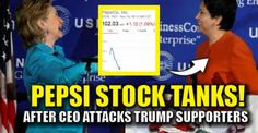 """BREAKING : Pepsi STOCK Plummets After CEO Tells Trump Supporters to """"Take Their Business Elsewhere"""" - 11/15/16"""