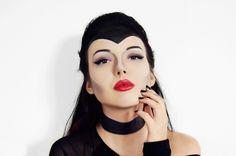 Halloween Make Up Look: Disneys Maleficent {beautyful, makeup from movies}