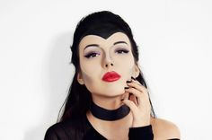 Halloween Make Up Look: Disneys Maleficent {beautyful, makeup from movies}