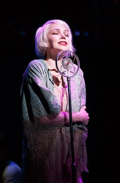 Roundabout Theatre Company's Cabaret Revival - Michelle Williams as Sally Bowles.