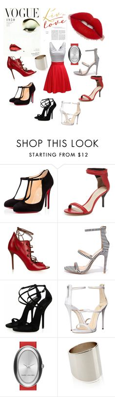 """""""My Shoe Fetish"""" by victoria-rowan ❤ liked on Polyvore featuring Christian Louboutin, 3.1 Phillip Lim, Malone Souliers, Liliana, Giuseppe Zanotti, Marc Jacobs, Accessorize and myshoefetish"""